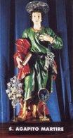Sant'Agapito IS - Santino SANT'AGAPITO - PERFETTO P84 - Religione & Esoterismo