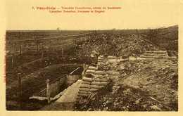 Vimy Ridge Tranchées Canadiennes Entrée Du Souterrain Canadian Trenches Entrance To Dugout - France