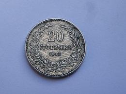 Bulgarie 20 Stotinki 1913 Ferdinand I  Km# 26 Cupronickel TTB - Bulgarie