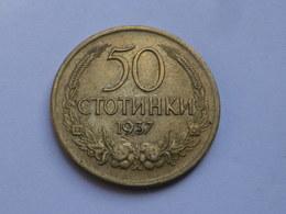 Bulgarie 50 Stotinki 1937 Boris III         Km# 46  Alu Bronze  TTB - Bulgarie