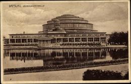 Cp Wrocław Breslau Schlesien, Blick Auf Die Jahrhunderthalle - Schlesien