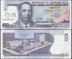 Philippines. 100 Piso (Unc) 2013. Banknote Cat# P.219a - Philippines