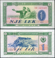 Albania. 1 Lekё (Unc) 1976. Banknote Cat# P.40a - Albanie