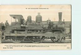 Cie De L' Est - Machine 503 Pour Trains Légers Express - Les Locomotives  , Ed. Fleury - 2 Scans - Matériel
