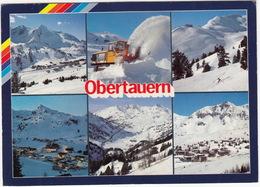 Obertauern: MERCEDES-BENZ UNIMOG U100  Snow Blower  - Wintersport, Salzburger Land - (Austria) - Toerisme