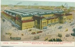 Leipzig; Hauptbahnhof (Tramway) - Nicht Gelaufen. (Verlag?) - Leipzig