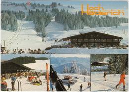 Hittisau: SCHNEEWIESEL STEYR PUCH HAFLINGER SNOWCAT - Lift-Restaurant 'Hoch-Häderich' - (Austria) - Toerisme