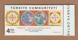 AC - TURKEY STAMP - TURKEY - SLOVAKIA JOINT STAMP MNH 27 NOVEMBER 2018 - Nuevos