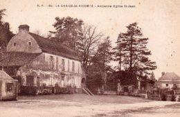 La Chaize Le Vicomte : Ancienne église St Jean - La Chaize Le Vicomte