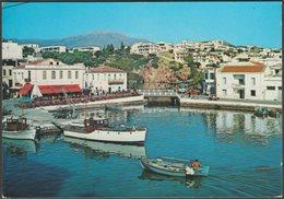 Aghios Nicolaos, Crete, C.1960s - Raphaelakis Postcard - Greece