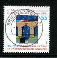 Bund 2003: Mi.-Nr. 2311 Raster I: Deutsch-Franz. Zusammenarbeit - Used Stamps