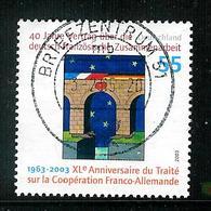Bund 2003: Mi.-Nr. 2311 Raster II: Deutsch-Franz. Zusammenarbeit - Used Stamps