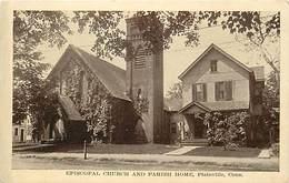 Pays Div -ref N761- Etats Unis D Amerique - Usa - United States Of America - Episcopal Church -plainville - - Etats-Unis