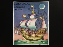 SOMALIA - BF Colombo N.d. Timbrato + Spese Postali - Somalia (1960-...)