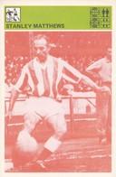 STANLEY MATTHEWS CARD-SVIJET SPORTA (9) - Soccer