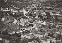 CPSM  84 RUSTREL VUE GENERALE AERIENNE CENTRE DU VILLAGE - France