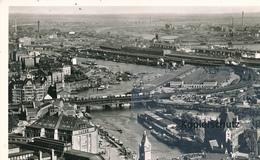 AK Hamburg,  Oberhafen Mit Elbbrücken - Deutschland