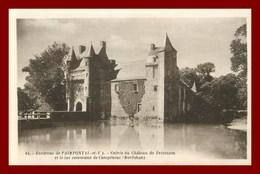 Théme Chateau * Campénéac *  Chateau De Trécesson    ( Scan Recto Et Verso ) - France