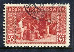 BOSNIA & HERZEGOVINA 1906 45 H . Perforated 10½:10½ :10½:9¼  Used. Michel 40G, SG 197K - Bosnia Herzegovina