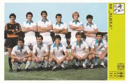NK RIJEKA CARD-SVIJET SPORTA (32) - Soccer