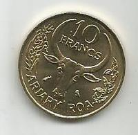 Madagascar 10 Francs 1989. UNC KM#11 - Madagascar
