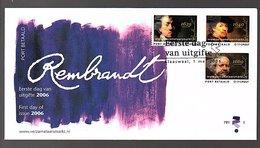 Rembrandt FDC 2006 (CE-70) - FDC