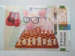 Chess  - Schach  - Ajedrez - Echecs Calendar 2019 With Pig Banknote Size - Echecs