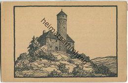 Jugendburg Ludwigstein - Federzeichnung Karl Richter Halle - Verlag Vereinigung Zur Erhaltung Der Burg Ludwigstein - Allemagne