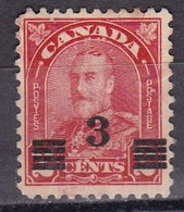 Canada, 1932 - 3c On2c King George V - Nr.191 Usato° - 1911-1935 Regno Di George V