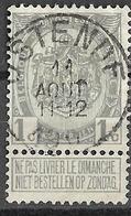 _8S-920: N°81:  OSTENDE - 1893-1907 Armoiries