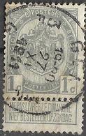 _8S-919: N°81:  3F GENT 3F GAND - 1893-1907 Wappen