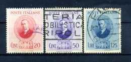 1938 REGNO SET USATO - Usati