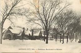 Pays Div -ref N757- Etats Unis D Amerique - Usa - United States Of America - Kansas City - Mo -gladstone Boulevard  - - Etats-Unis