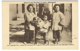 Mission Des Jésuites De Chine - Shanghai - Seng Mon Yen Auxiliaires Du Purgatoire Orphelines - Religion - Chine