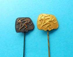 OLYMPIC GAMES - Nice Rare Lot Of 2. Yugoslav Vintage Olympics Badges * Olympiad Olympia Olympiade Olimpische Spiele - Apparel, Souvenirs & Other