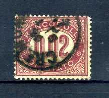 1875 REGNO SERVIZIO N.1 USATO - Dienstpost