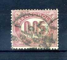 1875 REGNO SERVIZIO N.2 USATO - 1861-78 Vittorio Emanuele II