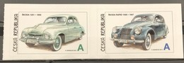 Czech Republic, 2015, Mi: 855/56 (MNH) - Cars