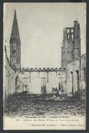 +++ CPA - IEPER - YPRES - Guerre 1914 - Ruines - Intérieur Des Halles Et Tour St Martin  // - Ieper