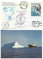 YT 187 - Carottage En Mer  - Escale Du Marion Dufresne à Ashod - Israël - Terres Australes Et Antarctiques Françaises (TAAF)
