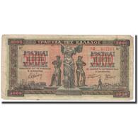 Billet, Grèce, 5000 Drachmai, 1942, 1942-06-20, KM:119a, TB - Grèce
