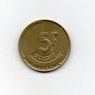 Belgio - 1988 - 5 Franchi - Vedi Foto - (MW1924) - 1951-1993: Baldovino I