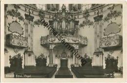 Kloster Ettal - Orgel - Foto-AK - Verlag Martin Herpich München - Kirchen U. Kathedralen