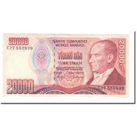 Billet, Turquie, 20,000 Lira, 1988, L.1970, KM:201, SPL - Turquie