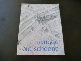 Brugge Die Schoone (vóór WO II Daar Oude Spelling) Veel Foto's Z/w - Histoire