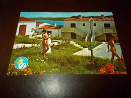 B703  Iugoslavia Anita Vrsar Spiaggia Maturisti Viaggiata - Jugoslavia