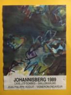 9067 - Johannisberg 1989 Cave Les Combes Saillon Suisse - Art
