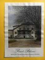 9072 - Pinot Blanc Gavillet Frères Asnières Suisse - Etiketten