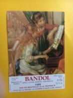 9077 - Bandol 1985 Renoir Jeunes Filles Au Piano - Art