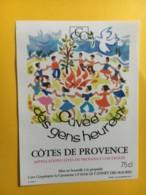 9078 - Côtes De Provence Cuvée Des Gens Heureux - Art